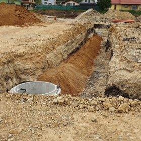 kanalizační řád k prvním samostatným vilám č. 34 a č. 35 25-04-2019