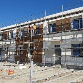 20-04-2020 zhotovení fasády středového domu