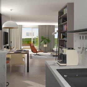 příklad interiéru domu typ A3 / A1